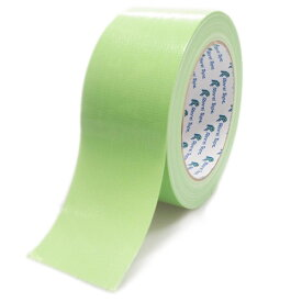 リンレイテープ カラー布粘着テープ 黄緑 1巻
