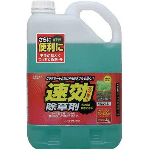 【取寄品】IRIS 速効除草剤 4L 1個