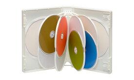 DVDケース 10枚用(14ミリ)(10枚セット)【全3色】