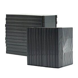 【訳あり品】DVDトールケース(アウターロックタイプ)4色 100枚入 CD DVD 1枚収納 ブラック ホワイト ブルー 半透明(返品・キャンセル不可)