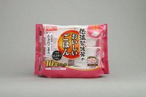 アイリスオーヤマ 低温製法米のおいしいごはん 秋田県産あきたこまち 180g×10P 角型 1セット(4点)【返品・キャンセル不可】 310353