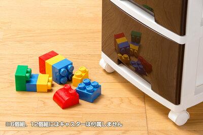 大ボリューム!!鏡面仕上げ日本製リビングクローゼット収納ケース12個セットLife12ライフ121つあたり:34x47x24cmチェスト衣類ケース引出し押入れクローゼット収納ケース収納ボックス収納BOX