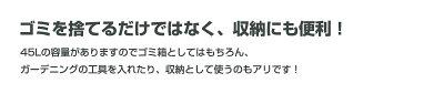 日本製おしゃれな丸型ラウンドペールゴミ箱45LPieno:ピエーノ約幅47.5×高さ52cmごみ箱屋外ダストボックス蓋フタ付きプラスチック製くずかごダストBOX約45Llリットルロック式おしゃれお洒落オシャレ持ち手付き