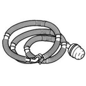 【あす楽対応_関東】 東芝42040707 洗濯機給水ホース全自動洗濯機 ふろ水 給水ホース 4m フィルター 保護スリーブ付き ふろ水ポンプ機能付き洗濯機に対応[5000000003006]