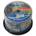 【あす楽対応_関東】【送料500円】HIDISKHDBDR130RP50BD-R 6倍速 映像用デジタル放送対応 インクジェットプリンタ対応…