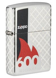【あす楽対応 関東】Zippo(ジッポ)ライター#49272 総生産数6億個記念ライター クロームポリッシュ0191693170047