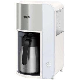 【あす楽関東_対応】【送料無料】THERMOS(サーモス)ECK-1000 WH ホワイト真空断熱ポットコーヒーメーカー 1.0L[4562344370066]
