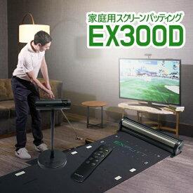 【あす楽対応_関東】EXPUTT EX300D【日本正規品】イーエックスパット家庭用スクリーンパッティング練習機[8809990113606]【送料無料】