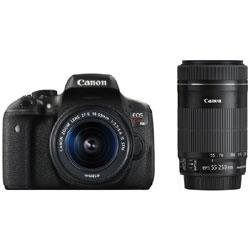 【あす楽対応_関東】【 カード_OK!】【送料無料】CANON(キヤノン)EOS Kiss X8i ダブルズームキット2420万画素 デジタル一眼カメラ
