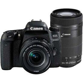 【あす楽対応_関東】【国内正規品】【送料無料】CANON(キヤノン)EOS 9000D ダブルズームキット2420万画素 デジタル一眼カメラ