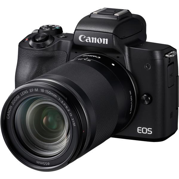 【 在庫処分!】【 国内正規ルート品 】【送料無料】CANON(キヤノン)EOS Kiss M EF-M18-150 IS STM レンズキット ブラック2410万画素 デジタル一眼カメラ