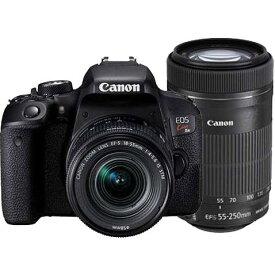 【あす楽関東_対応】【送料無料】CANON(キヤノン)EOS Kiss X9i ダブルズームキット2420万画素 デジタル一眼カメラ[4549292083729]