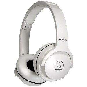 【あす楽関東_対応】audio-technica(オーディオテクニカ)ATH-S220BT WH ホワイトワイヤレスヘッドホン[4961310156480]