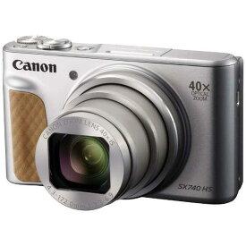 キヤノンPowerShot SX740 HS シルバー2030万画素 デジタルカメラ[PowerShotSX740HSシルバー]【あす楽対応_関東】