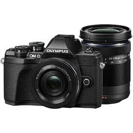 OLYMPUS(オリンパス)OM-D E-M10 Mark III EZダブルズームキット ブラック1605万画素 デジタル一眼カメラ 【あす楽対応_関東】【送料無料】
