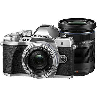 OLYMPUS(オリンパス)OM-D E-M10 Mark III EZダブルズームキット シルバー1605万画素 デジタル一眼カメラ 【あす楽対応_関東】【送料無料】