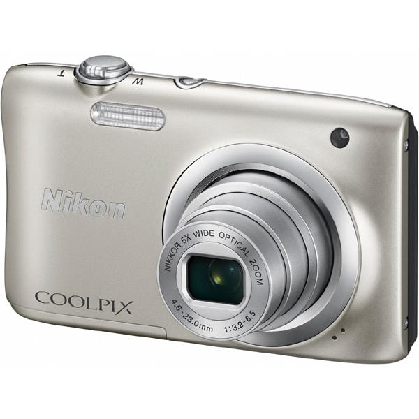 ニコンCOOLPIX A100 シルバー2005万画素 デジタルカメラ【あす楽対応_関東】【送料500円】