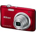 ニコンCOOLPIX A100 レッド2005万画素 デジタルカメラ【あす楽対応_関東】【送料500円】