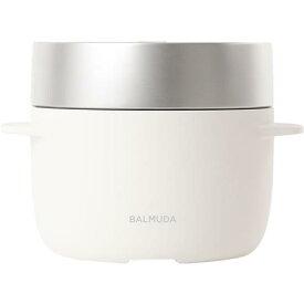 BALMUDA(バルミューダ)K03A WH ホワイト蒸気炊飯器 The Gohan 3合炊き[K03AWH]【あす楽対応_関東】