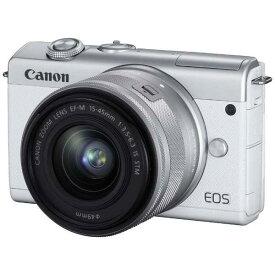 CANON(キヤノン)EOS M200 EF-M15-45 IS STM レンズキット ホワイト2410万画素 ミラーレスカメラ【あす楽対応_関東】【送料無料】