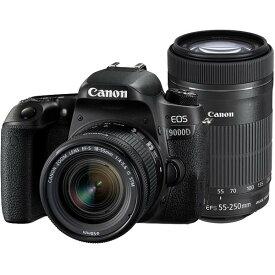 CANON(キヤノン)EOS 9000D ダブルズームキット2420万画素 デジタル一眼カメラ【あす楽対応_関東】【国内正規品】【送料無料】