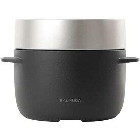 BALMUDA(バルミューダ)K03A BK ブラック蒸気炊飯器 The Gohan 3合炊き[K03ABK]【あす楽対応_関東】