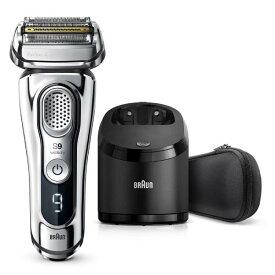 BRAUN(ブラウン)往復式 4枚刃 メンズ電気シェーバーシリーズ9 Wet&Dry 9394CC洗浄器付モデル お風呂剃り対応 シェーバーケース付[4210201207757]【あす楽_関東】【送料無料】