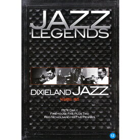DVD JAZZ LEGENDS DIXIELAND JAZZ オムニバス集 TOP-019 ディキシーランド・ジャズ PETE DAILY FIREHOUSE FIVE PLUS TWO RED NICHOLSAND HIS FIVE PENNIES 名曲収録 ジャズ 洋楽 アメリカ 音楽 [メール便]