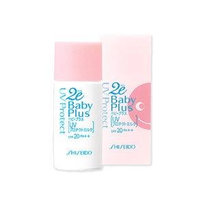 資生堂2eBabyPlus(ドゥーエベビープラス)UVプロテクトミルク日焼け止め乳液ノンケミカル30ml敏感肌/乾燥肌/低刺激性スキンケア化粧品