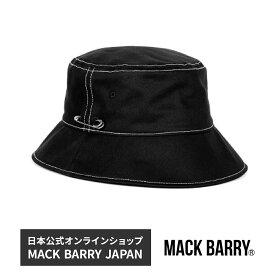 BTS着用ブランド 韓流アイドル着用で話題のキャップブランド MACK BARRY MCBRY BUCKET W LINE HAT B 国内正規品 ハット バケットハット 帽子 メンズ men's レディース lady's マクバリー