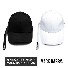 BTS着用ブランド 韓流アイドル着用で話題のキャップブランド MACK BARRY MACK LONGSTRAP CURVE CAP 国内正規品 キャップ 帽子 メンズ men's レディース lady's マクバリー