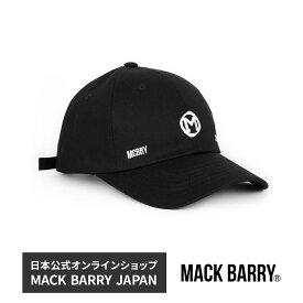BTS着用ブランド 韓流アイドル着用で話題のキャップブランド MACK BARRY OGLOGO CURVE CAP 国内正規品 キャップ 帽子 BTS 防弾少年団 ジミン メンズ men's レディース lady's マクバリー
