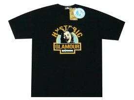ヒステリックグラマー HYSTERIC GLAMOUR MEDICOMTOY メディコムトイ コラボ 2019 新品 黒 BE@R BRICK ベアブリック HYSガール プリント Tシャツ ブラック BLACK
