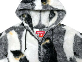 SUPREME シュプリーム 20AW 新品 黒 Penguins Hooded Fleece Jacket ペンギン フーデッド フリース ジャケット BLACK