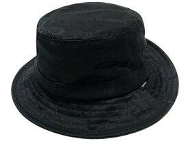 SUPREME シュプリーム 19AW 新品 黒 Jacquard Logos Twill Crusher ジャガードロゴ クラッシャー ハット BLACK