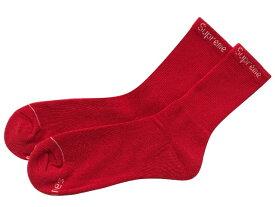 SUPREME シュプリーム ヘインズ 19AW 新品 赤 靴下 ジャガードロゴ ハイソックス Hanes Crew Socks 1足 RED
