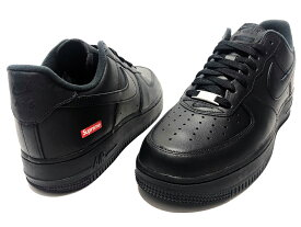 Supreme シュプリーム Nike Air Force 1 Low 20AW 新品 黒 ナイキ エア フォース ワン ロー BLACK CU9225-001 AF1 ボックスロゴ 送料無料