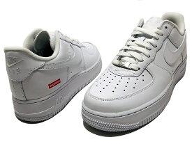 Supreme シュプリーム Nike Air Force 1 Low 21SS 新品 白 ナイキ エア フォース ワン ロー WHITE CU9225-100 AF1 ボックスロゴ 送料無料