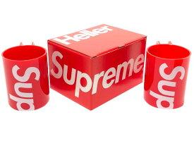 SUPREME シュプリーム 20SS 新品 赤 マグカップ ヘラ— マグ Heller Mugs (Set of 2) 2個セット RED コップ