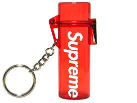 SUPREME シュプリーム 20SS 新品 赤 Waterproof Lighter Case Keychain ウォータープルーフ ライター ケース ロゴ キーホルダー RED