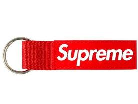 SUPREME シュプリーム 20AW 新品 赤 ウェービング キーチェーン レッド Webbing Keychain RED ロゴ キーホルダー