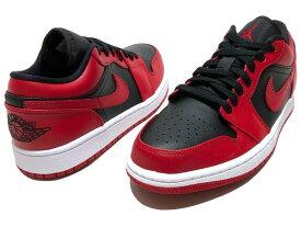 NIKE AIR JORDAN 1 LOW VARSITY RED 20SS 新品 赤黒 ナイキ エア ジョーダン 1 ロー バーシティ レッド 品番 553558-606 GYM RED/BLACK-WHITE 箱ダメージ有