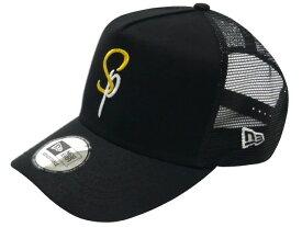 SOPHNET. ソフネット ニューエラ コラボ 18SS 新品 黒 NEW ERA MESH CAP SPロゴ 刺繍 メッシュ キャップ BLACK 送料無料