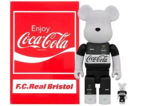 SOPHNET. ソフ エフシーレアルブリストル F.C.Real Bristol コカ・コーラ MEDICOM TOY ベアブリック コラボ 20SS 新品 COCA-COLA BE@RBRICK 100%&400% SET 2体セット F.C.R.B