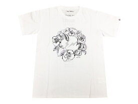 N.HOLLYWOOD エヌハリウッド fragment design フラグメントデザイン 店舗限定 コラボ 15AW 新品 白 Flower Huddle 花 Tシャツ フラワー サークルサンダー WHITE CS05