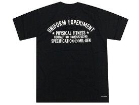 SOPHNET. ソフ uniform experiment ユニフォームエクスペリメント 17SS新品 黒 UEN PHYSICAL FITNESS S/S TEE Tシャツ サークルサンダー BLACK バックプリント