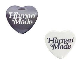 HUMAN MADE ヒューマンメイド GIRLS DON'T CRY ガールズドントクライ コラボ 店舗限定 19AW 新品 HEART BADGE ハート バッジ ベルディ 紺白