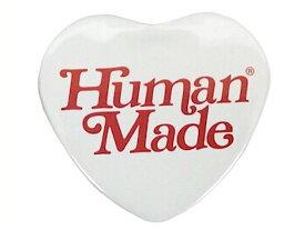 HUMAN MADE ヒューマンメイド GIRLS DON'T CRY ガールズドントクライ コラボ 京都 OPEN 限定 19SS 新品 白赤 HEART BADGE WHITE ハート バッジ ベルディ