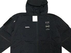 SOPHNET. ソフ F.C.Real Bristol エフシーレアルブリストル 16AW 新品 黒 WARM UP JACKET ウォーム アップ ジャケット ナイロンジャケット BLACK エンブレム ブラック