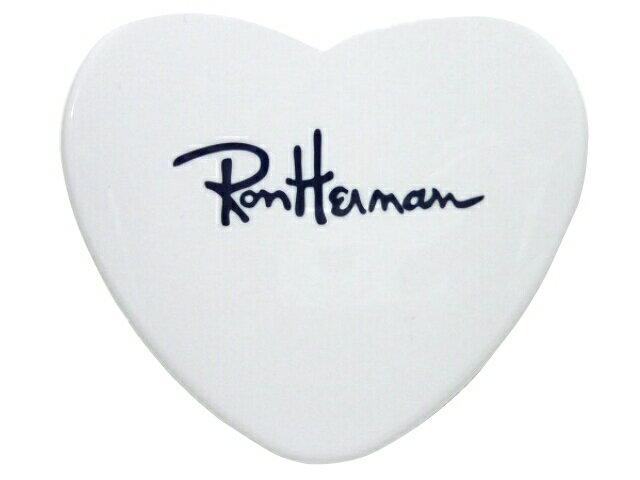Ron Herman ロンハーマン★新品 白 heart mirror ハートミラー コンパクトミラー 鏡 WHITE